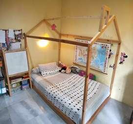 Kerangka tempat tidur anak