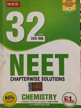 NEET CHEMISTRY 32 years solved questions
