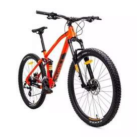 Kami menjual sepeda mtb thrill Fervent 3,0 ukurannya 27.5