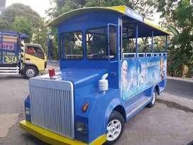 kereta mini wisata siao dibuat usaha mainan anak