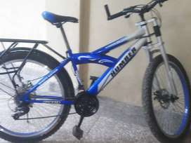My cycle is very good condition 3 months usedHymber bran