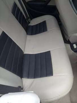 Volkswagen polo seat cover Beige and Black