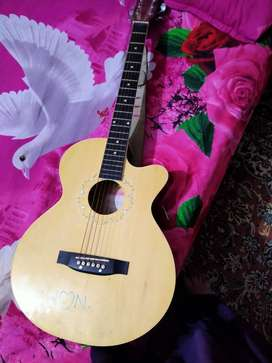Urgent sell Accustic guitar with beg with belt