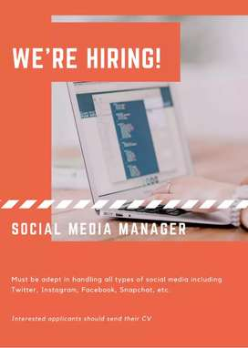 Online marketing and advertising job