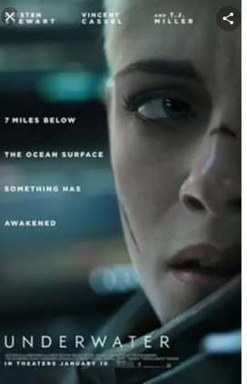 Film DVD Underwater 2020