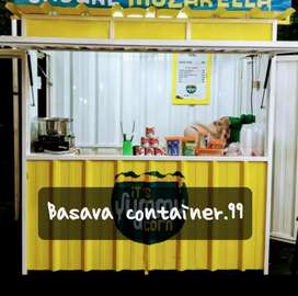Booth container/booth jasuke/booth jualan/booth makanan/booth bazzar