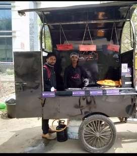 Food Van With Utensils