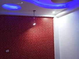 2bhk floor in uttam nagar west with lift with car parking