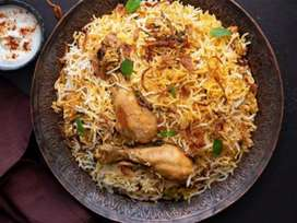 wanted experience cook for biryani ,curry , tandoor