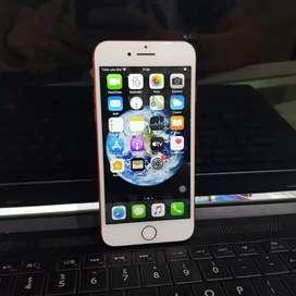 iphone 7 128 GB Red Mulus Lengkap . Gransi Distri.