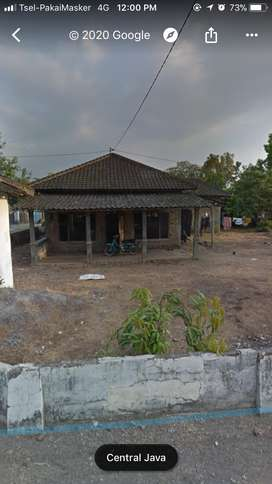 Dijual Tanah dan rumah di sugihan tengah kampung dekat jalan raya