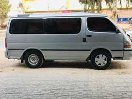 Hiace for Picnic & parties for all pakistan