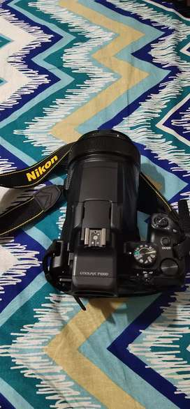 Nikon coolpix P1000 125× Optical zoom 4k camera