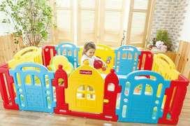 Play fence pagar anak Dwinguler castle
