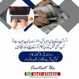 Online earning job