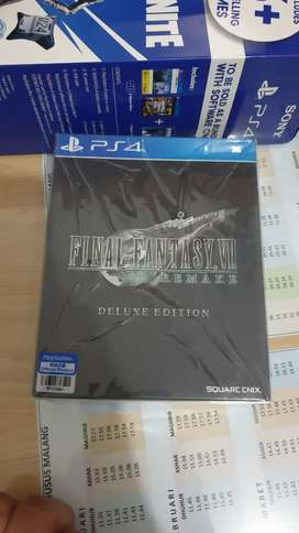 FF 7 Remake PS 4 DULUXE edition BNIB