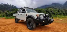 Ford ranger double cabin 4x4 flat deck,