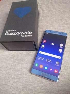 Samsung galaxy note fe 4/64gb garansi sein indo