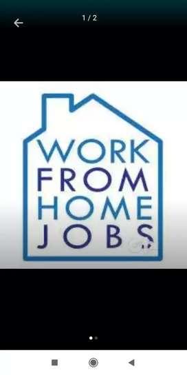 Online promotion work at home based