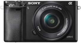 Sony ILCE-6000L/B IN5 Mirrorless Camera Body with Single Lens: 16-50mm