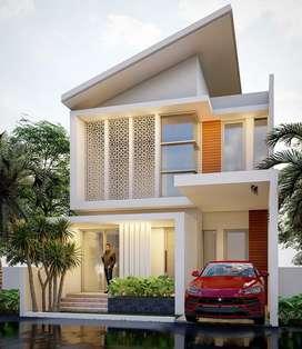 Jual rumah minimalis modern islami