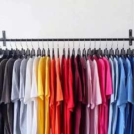 Kaos Polos Cotton Combed 30s Pria Wanita bahan distro