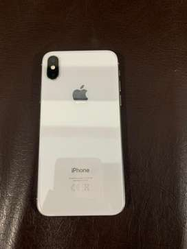 iphone X white 64 GB