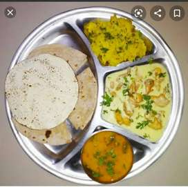 Homemade food tiffin self service in chandigarh