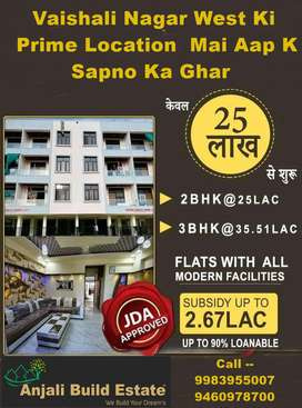 2, 3, 4, Bhk fully furnished flats and villa Gandhi path West Vaishali