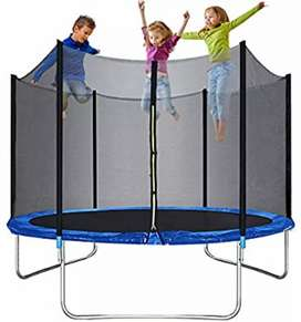 Trampoline for kids or Adults 10ft Trampolines Safety Enclosure Net