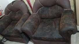 Factory price used sofa 5 seatair