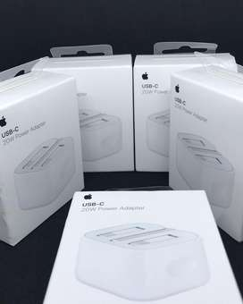 New Apple 20W USB-C power adapter UK plug fast C-type wall charger PD