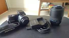 Jual Murah Samsung NX1000 + 2 Lensa + flash
