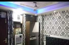 Furnished flat 1bhk independent floor