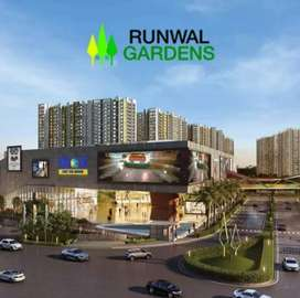 Budget 1 BHk for sale in Runwal garden dombivali east