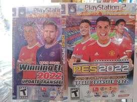 Kaset PS2 we PES judul lain banyak