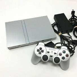 PS2 Silver edition