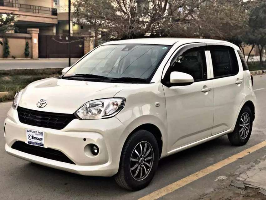 On Installments TOYOTA PASSO X-G Model/2016 By (Alvinaz Financing) 0