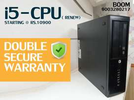 Branded HP CPU ( i5 ) - Warranty ( Double Secure ) - Home Delivery