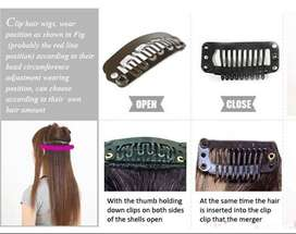 Pack of 12, Wig Holding Clips Hair Extension