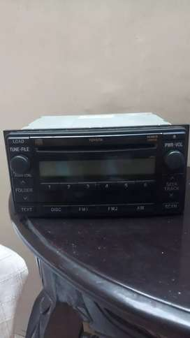 Radio Tape CD Toyota Innova 2011