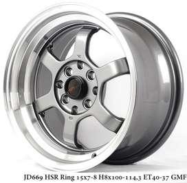 TOKYO RIFU JD669 HSR R15X7/8 H8X100-114,3 ET40/37 GML