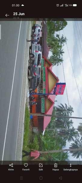 Dijual kadai nasi lesehan 3 atap mantap