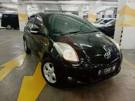 Toyota Yaris E AT 2007 Hitam