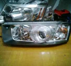 Headlamp lampu depan chevrolet captiva facelift