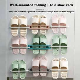 1Pcs Wall Rack For Slippers
