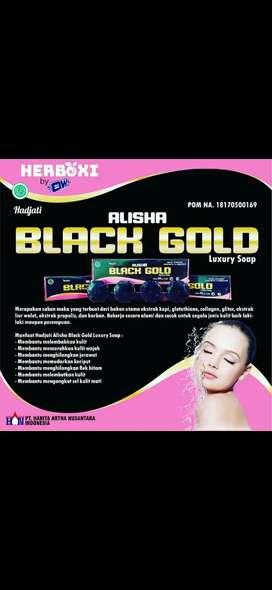 Agen sabun Black gold Alisha
