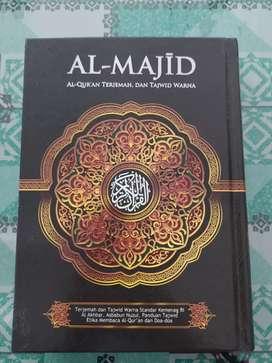 Al Quran Al-Majid Terjemah dan Tajwid A4 & A5 HC