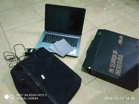 Dijual cepat laptop asus X441M