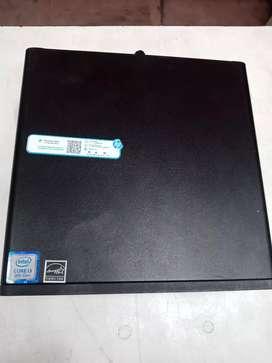 HP i3 8th gen slim PC 8gb ram 500gb  hdd 2gb graphic only cpu price @